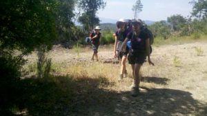 Tuscany walking group